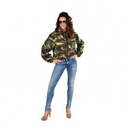 Camouflage jasje