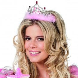 Kroon prinses met marabu rose