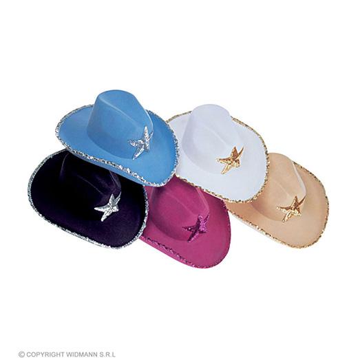 cowboy hoed madonna, met pailletten ster