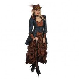 Steampunk dame luxe