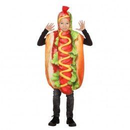 Hotdog kostuum kind