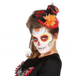 Day of the dead mini hoedje