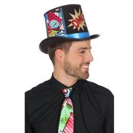 Hoge hoed popart