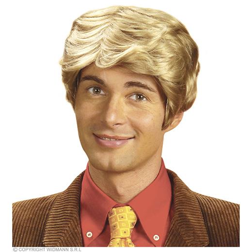 pruik, rick blond