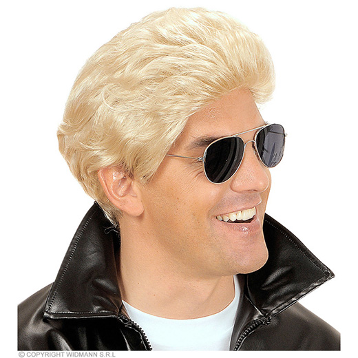 pruik, t-birds blond