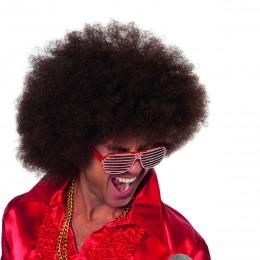 Afro kleine krul bruin