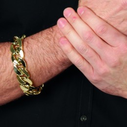 Armband pooier goud