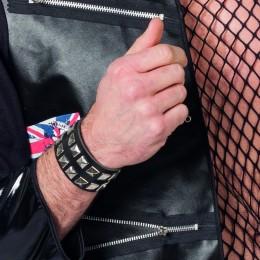 Armband punk 2 rijen