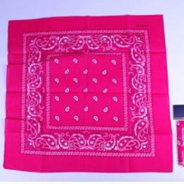 Boeren zakdoek pink