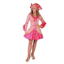 Jasje luxe brokaat roze