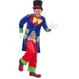 Clowns kostuum velours