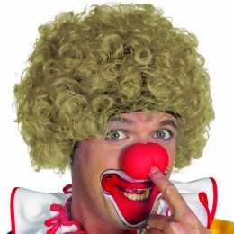 Clowns pruik blond