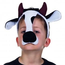 Dierenmasker met geluid koe