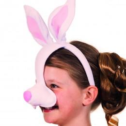 Dierenmasker met geluid konijn