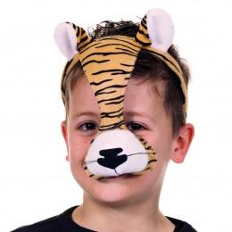 Dierenmasker met geluid tijger