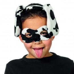 Dierenmasker met tiara dalmatier
