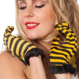 handschoenen geel zwart
