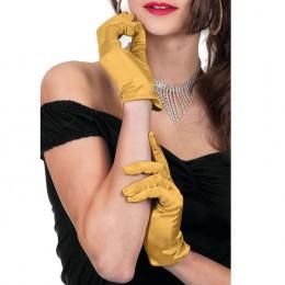 handschoenen kort goud