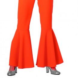 Hippie broek neon oranje