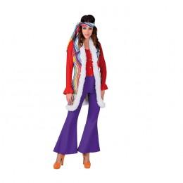 Hippie vest regenboog
