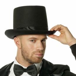Hoge hoed met elastiek