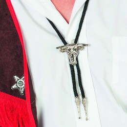 Ketting/tie cowboy de luxe