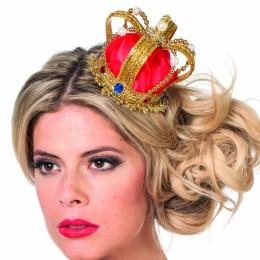 Kroon luxe rood/goud