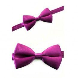 Luxe strik paars