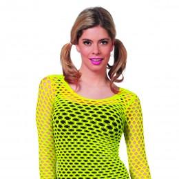 Netshirt geel