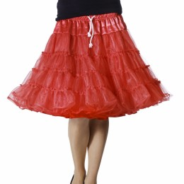 Petticoat luxe rood