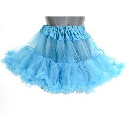 Petticoat kort aqua