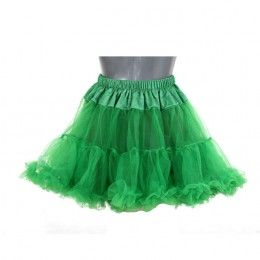 Petticoat kort groen
