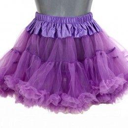 Petticoat kort paars