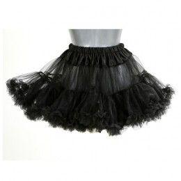 Petticoat kort zwart