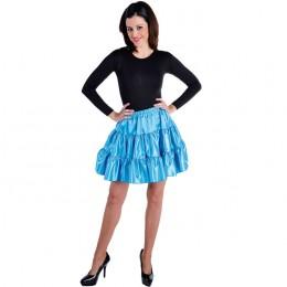 Petticoat stof blauw
