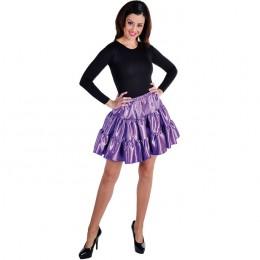 Petticoat stof paars