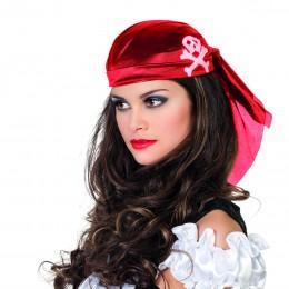 Piratenkapje rood