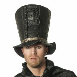 hoed steampunk xl zwart