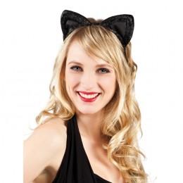 Tiara fluwelen kattenoren