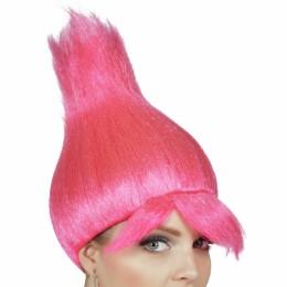 pruik trol pink