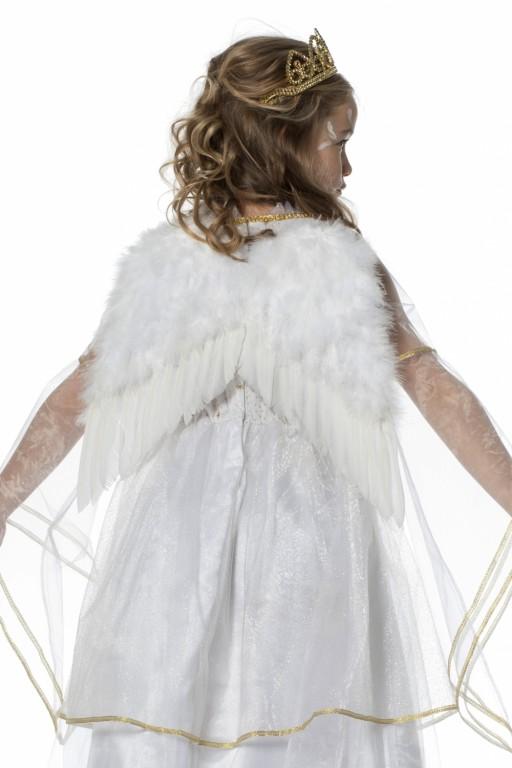 Engel vleugels wit 35x30cm