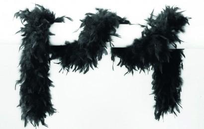 boa 65 gram 180cm lang zwart
