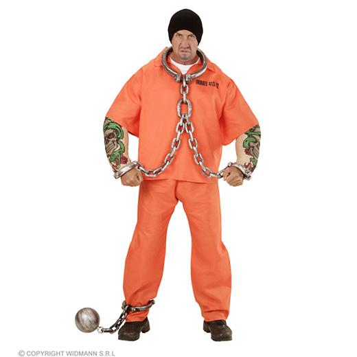 gevangene met tattoo spieren armen