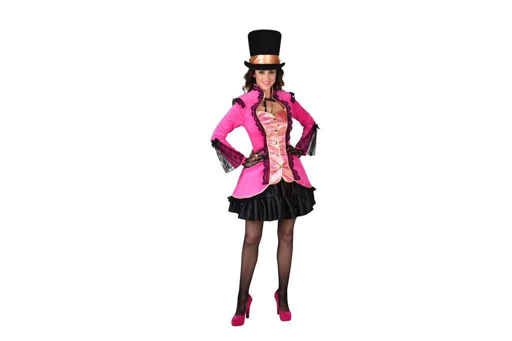 Burlesque jasje pink