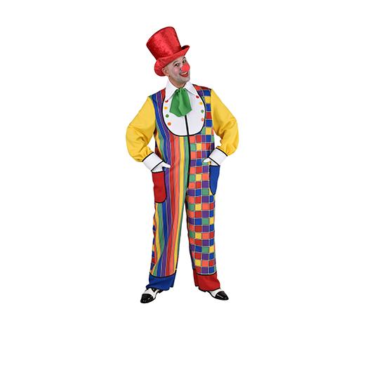Clowns kostuum Multi color