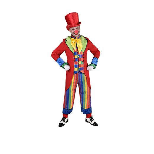 Clownskostuum Regenboog