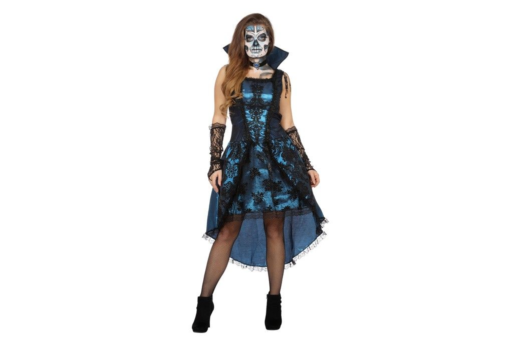 Halloween jurkje day of the death / vampier