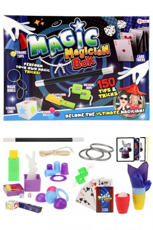 Goocheldoos Magic met 150 trucs