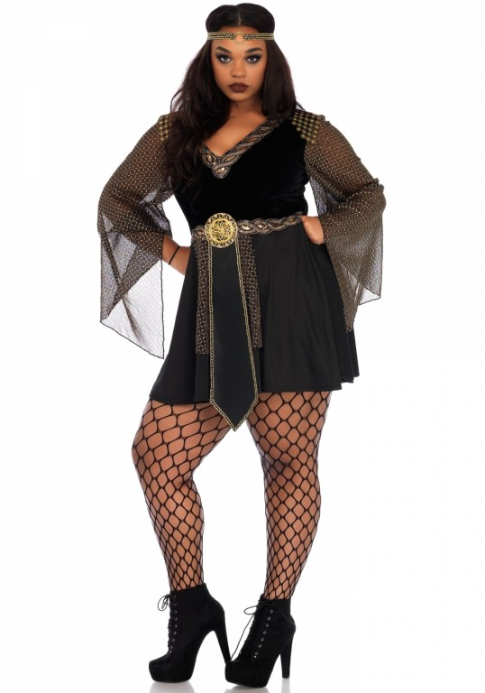 Glamazon warrior jurkje plus size