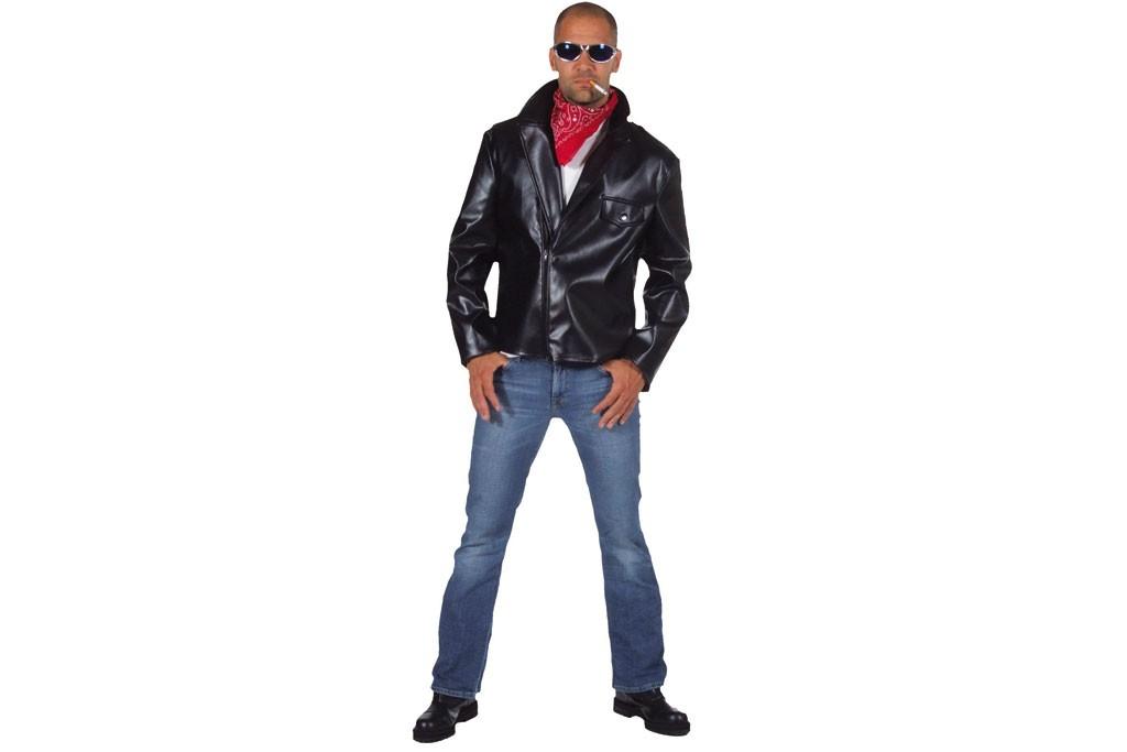 Biker jas zwart